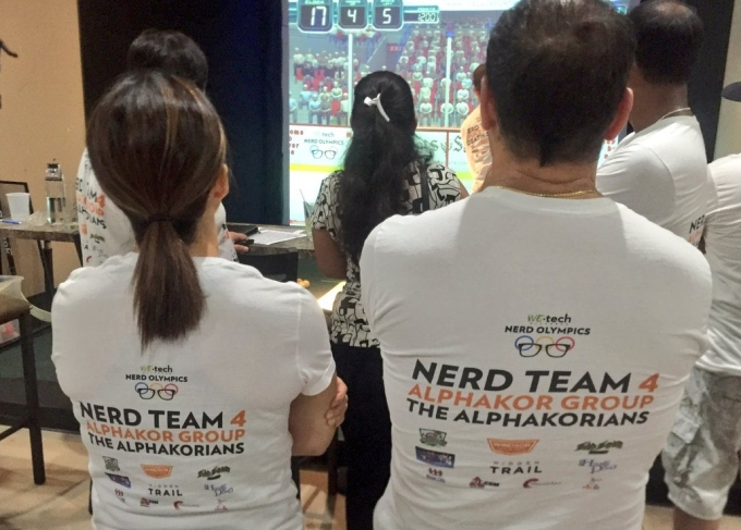 Nerd Olympics at Silver Tee