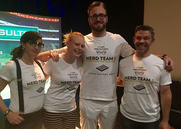 Nerd Olympics at Silver Tee