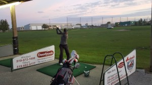 OFSSA Girls Practice Silver Tee Golf Centre Windsor