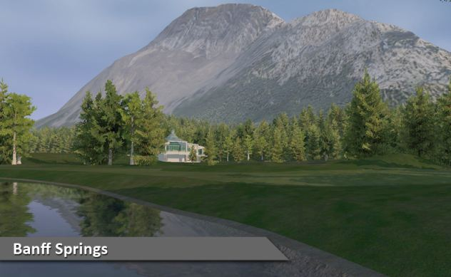 Play Banff Springs Golf Course at Silver Tee