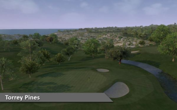 Play Torrey Pines Indoors at Silver Tee