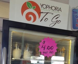 Yophoria Yogurt Silver Tee