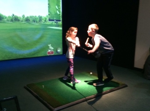 Family Fun Windsor Essex Indoor Golf and virtual sports