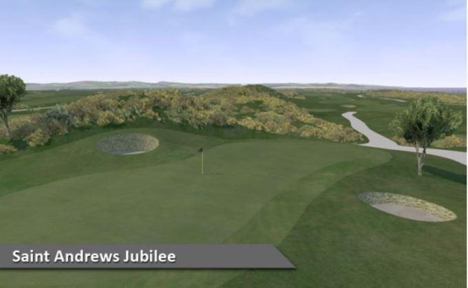 Play St Andrews Jubilee Course Silver Tee Golf Centre