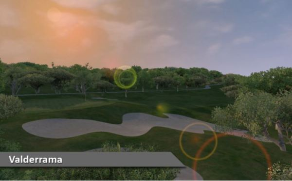 Valderrama Golf Club Spain Silver Tee