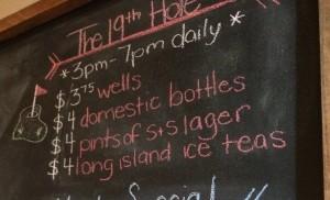 Drink Specials WIndsor On Shots & Slices