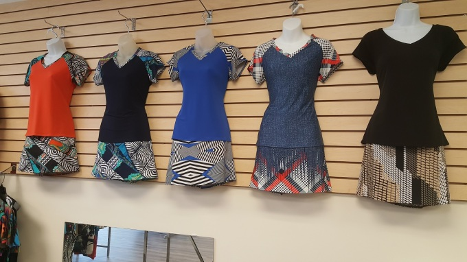 Island Girl Golf Fashions at Silver Tee