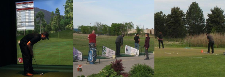 Practice Golf Silver Tee Windsor Essex Driving Range