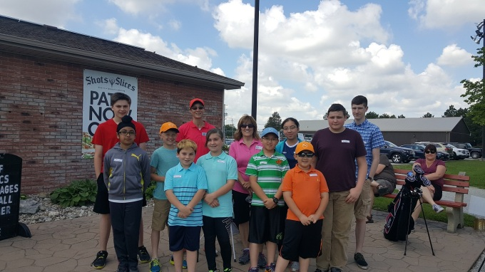Junior Golfers Silver Tee May 2017