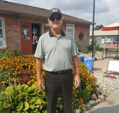 Charlie Sylvester Silver Tee Golf Practice Driving Range Windsor