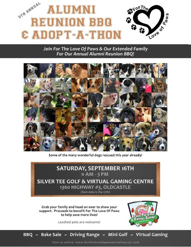 FLOP Adoptathon Reunion Sept 2017