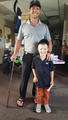 Junior Golfer Mason Silver Tee Aug 2017