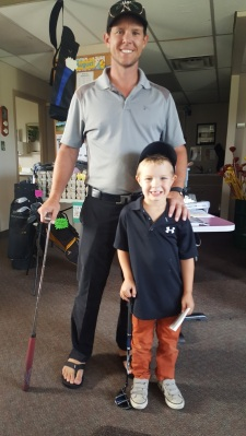 Junior Golfer Mason Silver Tee Aug 2017