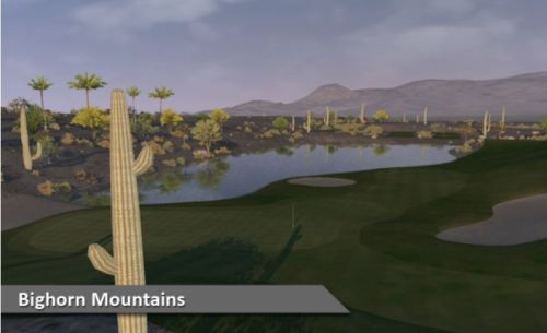 Bighorn Mountains Golf Course Virtual Silver Tee