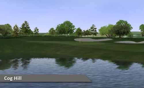 Cog Hill Virtual Golf Couse Silver Tee