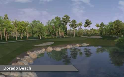 """This """"must-play"""" Puerto Rico golf course runs through lush jungle and oceanfront coconut groves, a truly magnificent setting for golf."""