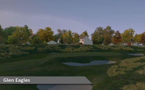 Glen Eagles Virtual Golf Course Silver Tee