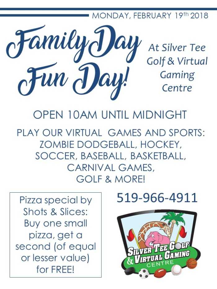 Fun things to do on Family Day Windsor Essex