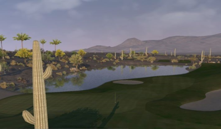 Bighorn Canyons Golf Course Virtual Silver Tee (2)