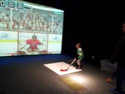 Kids Family Virtual Gaming Centre hockey Party