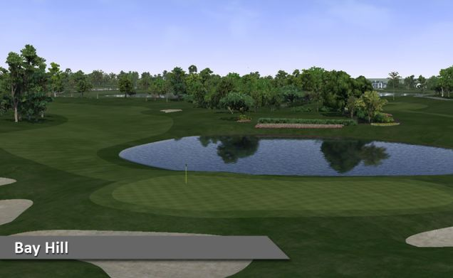 Play Bay Hill Indoor Golf Silver Tee Windsor