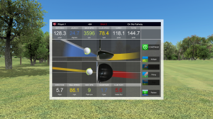 Shots Analysis Practice Indoors Silver Tee Golf Centre