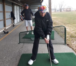 Driving Range Windsor Essex Silver Tee Golf