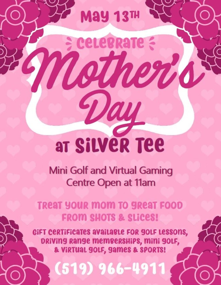 Mother Day Silver Tee Fun things to do Family Windsor Essex