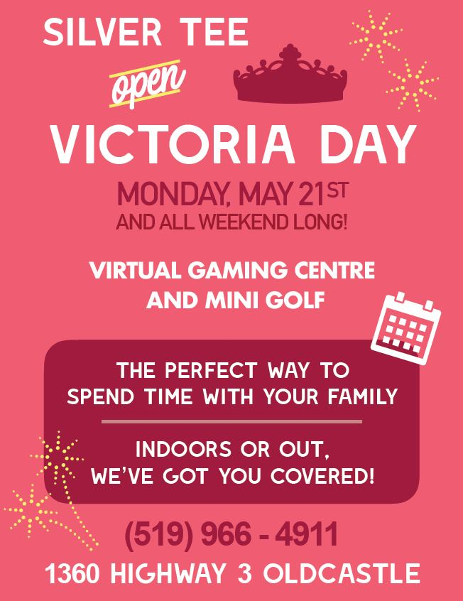 Victoria Day Fun things to do in Windsor Ontario Silver Tee