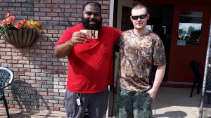 Tyson 19th hole bonus game winner Silver Tee mini Golf 2018 June