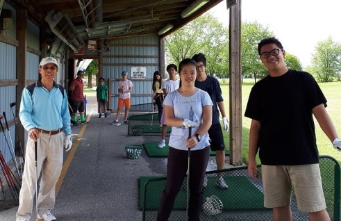 Family Driving Range Windsor Essex Golf Silver Tee