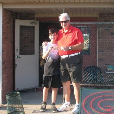 July 100 Mini Golf Bonus Game Winner Fred