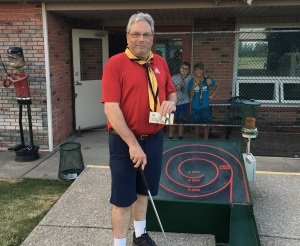 Justin Barker 19 Hole Bonus Ball Winner July 2018