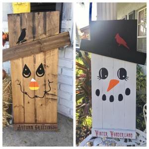 Jos Arty Party Wood Deco 1