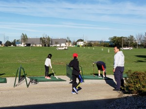 Driving Range Family Fall