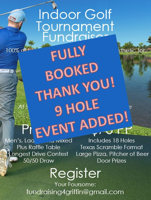 18 hole griffin event fully booked