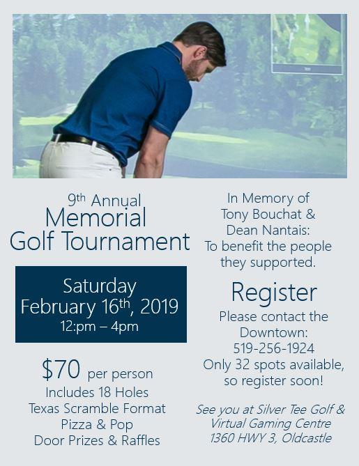 9th annual memorial golf tournament community living silver tee 2019
