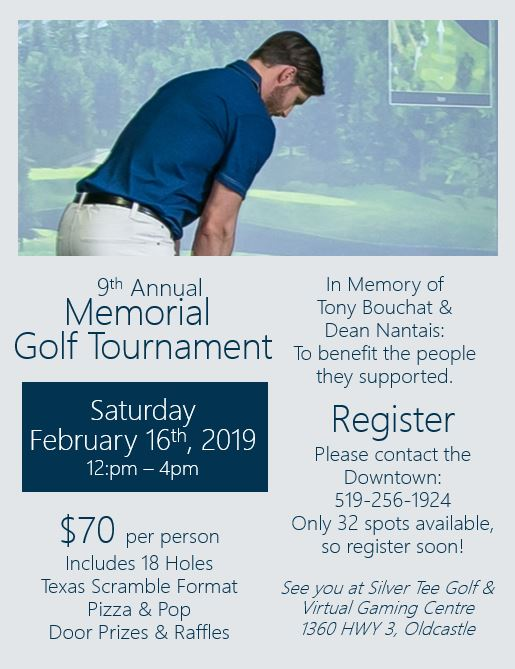 9th annual memorial golf tournament community living silver tee 2019