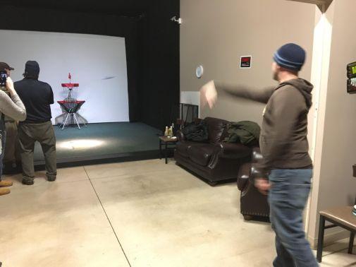 disc golf indoors windsor essex silver tee