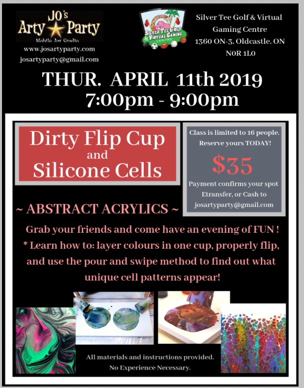 Jos Arty Party Creative April 2019 Silicone