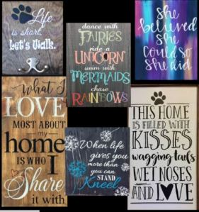 Wood Sign Jos Examples
