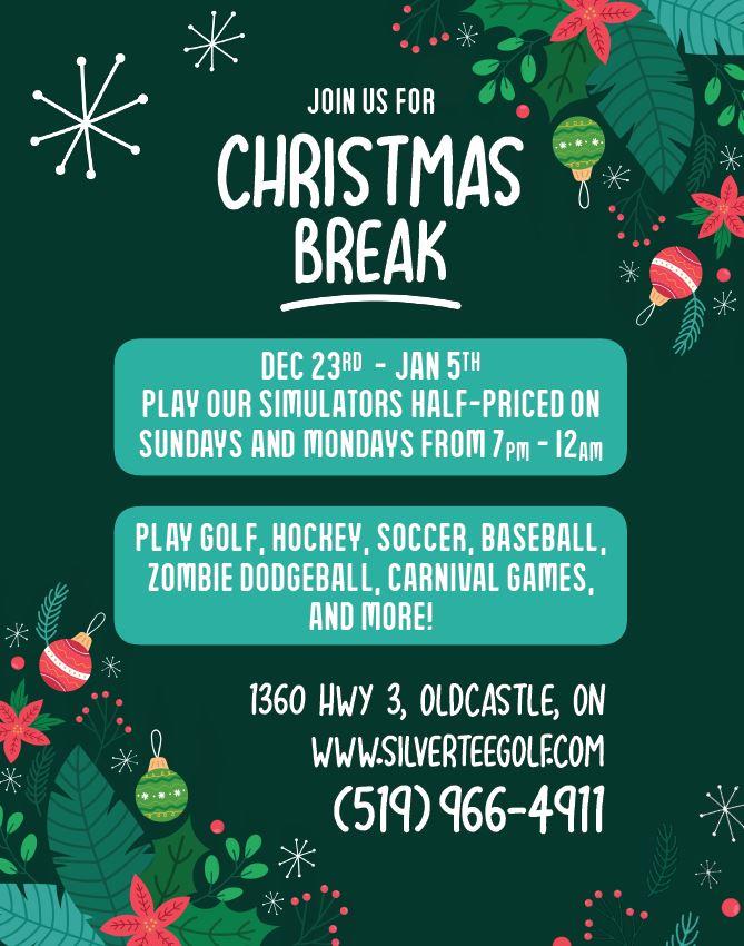 Christmas Break Dec 2019 Full