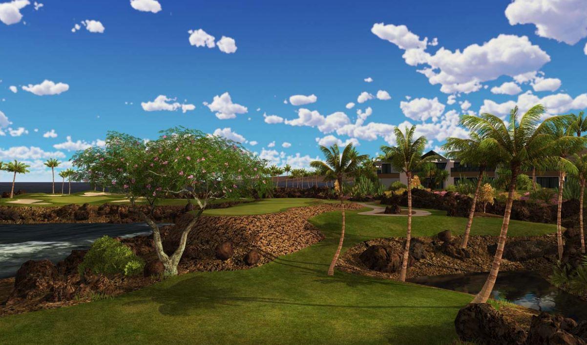 Mauna Lani Course Silver Tee