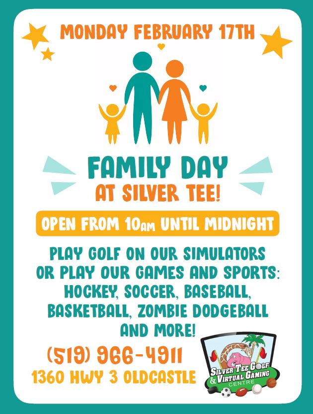 Family Day Fun Things Windsor Essex Silver Tee 2020