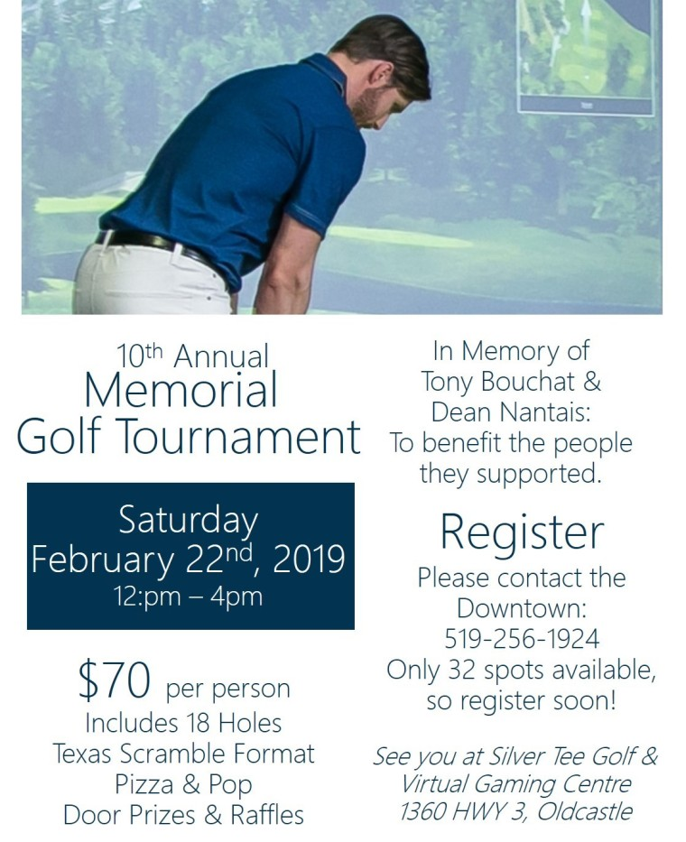 10th Annual Memorial Golf Tournament Silver Tee Updated