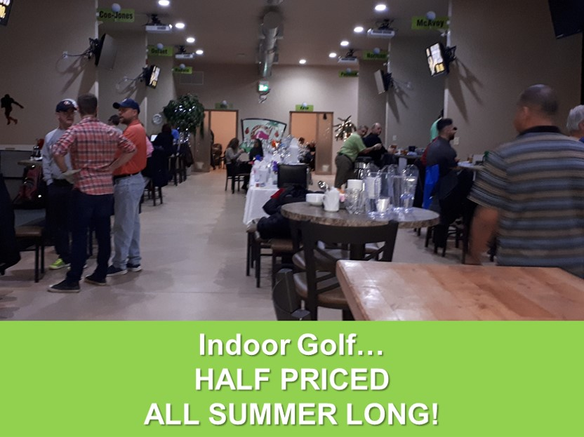 Indoor Golf Half Priced Summer 2020