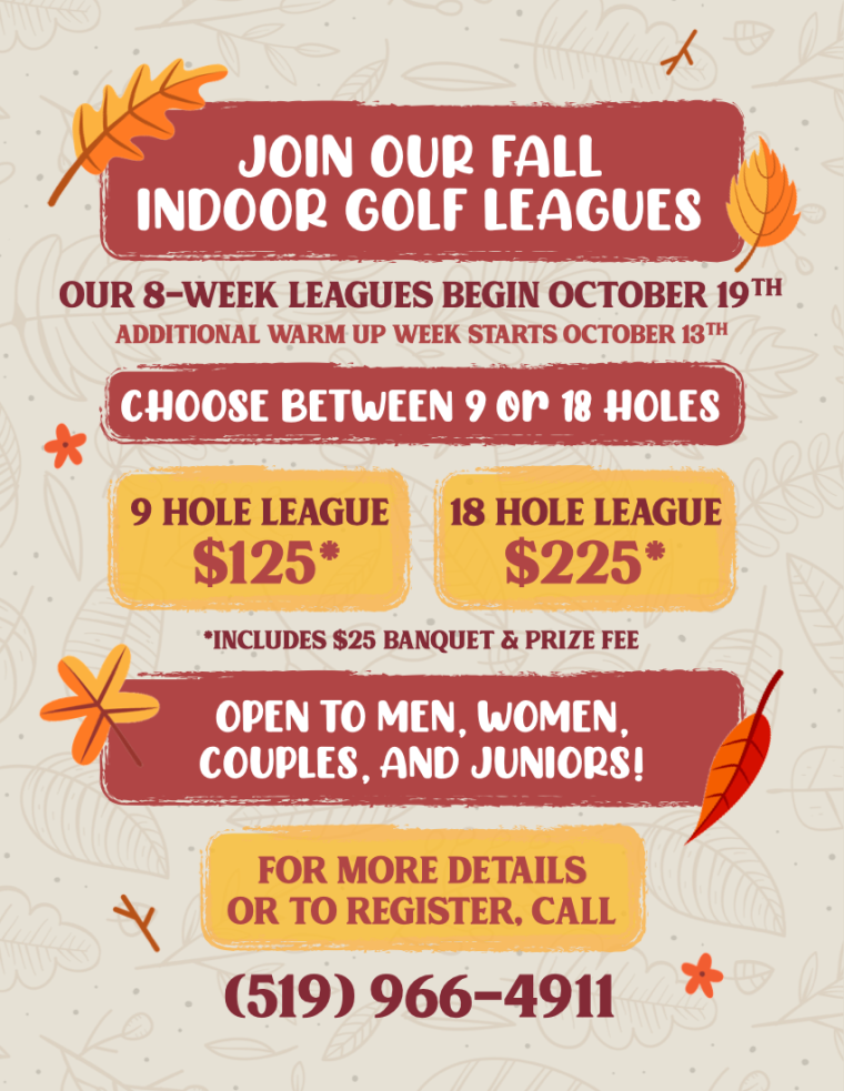 Silver Tee Fall Leagues 2020
