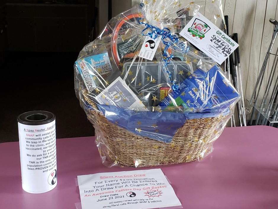 Snap for Cats Father's Day Basket